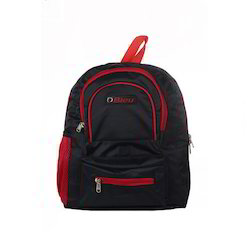 Red & Black Small School Bag