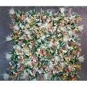 Plastic Artificial Oneb-zo-uv-007 Vertical Uv Wall Covering Mat, For Decoration