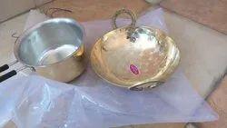 Polished Brass Kitchen Utensil