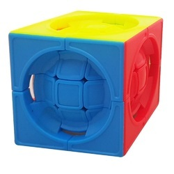 3x3 Centrosphere Lim Stickerless Cube Educational 3D Puzzle Toy Recommended Age 3-99 Years