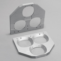 X Motor Mount CNC Machined Parts Aluminium