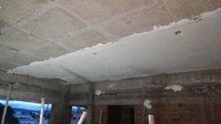 White Ceiling Gypsum Plastering Rs 34