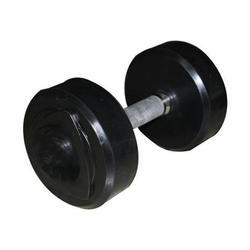 Rubber Coated Solid Dumbell