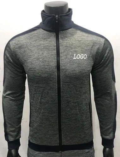 Men Round Neck Mens Sports Jackets Sports Jackets Dri Fit Jackets