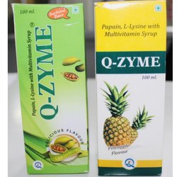 Papain L Lysine with Multivitamin Syrup
