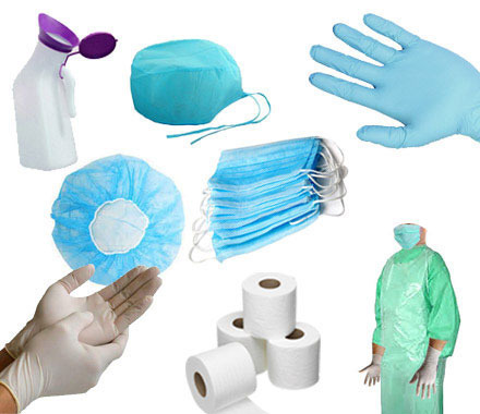 Medical & Surgical Equipments - Disposable Medical Equipments