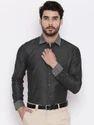 Black Full Sleeve Formal Shirts