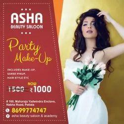 8am To 10pm Female Light Makeup, Patiala