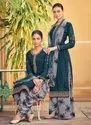 French Crepe New Designer Punjabi Suit