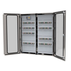 Three Phase Stainless steel Control Panel (Free Standing), For Generator