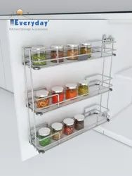 Cabinet Spice Rack Solid Base