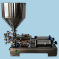 Paste Filling Machine double  nozzle
