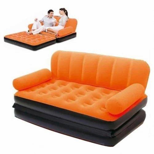 Comfortable Velvet Air Sofa Cum Bed at Rs 4199 piece Laxmi Nagar