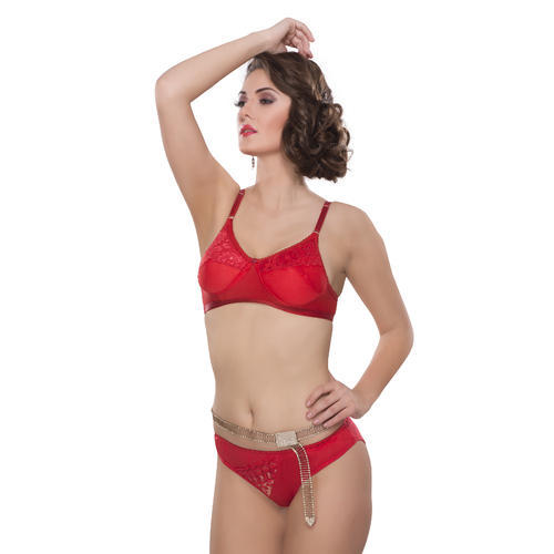 1edf648136a Kity Ladies Stylish Red Bra Set, Packaging Type: Packet, Rs 270 /set ...