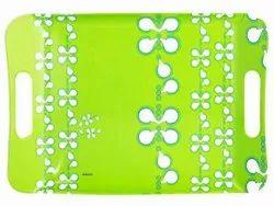 6 Pieces Borosil Sigma Lime Dew Melamine Tray