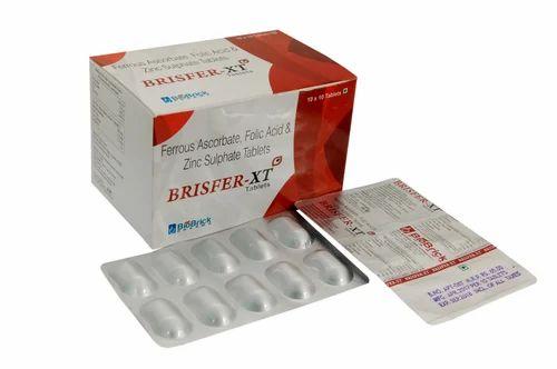 Pharmaceutical Tablets Trypsin 48 Mg Bromelain 90 Mg Rutoside