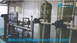 WAVES Stainless Steel Industrial RO System, Automation Grade: Semi-Automatic, RO Capacity: 2000-3000 (Liter/hour)