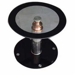 2-3 Feet Galvanized Stainless Steel Round Pod Tables