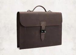Shoulder Bag Unisex Men Shoulder Leather Bags, Pure Leather(Y/N): Yes