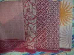 Kota Doria Fancy Bandhani Silk Saree