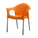 Plastic Arm Chair For Indoor