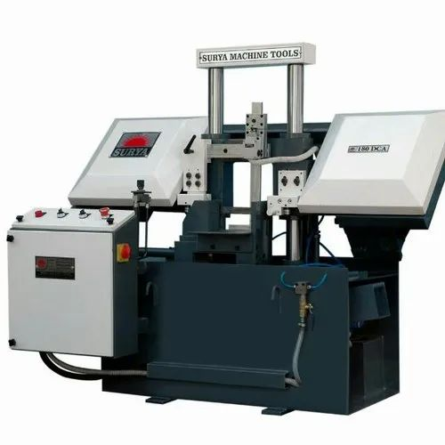 Manual Double Column Metal Bandsaw Machine