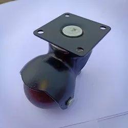 40 Mm Brown Colour Ball Castor