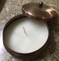 Paraffin Wax Lid Candles For Home Decor