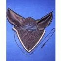 Black Horse Ear Bonnet