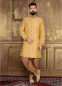 Wedding Wear Designer Mens Silk Sherwani