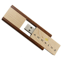 Wooden Pull Out Pen Drive