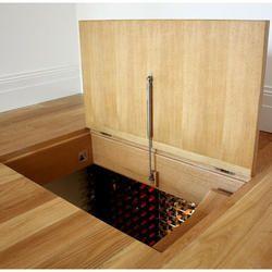 Hinged Wooden Trapdoor