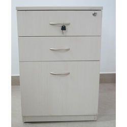 Three Drawer Pedestal Cabinet