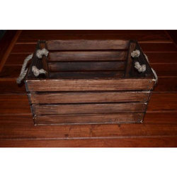 Wood Plank  Crate