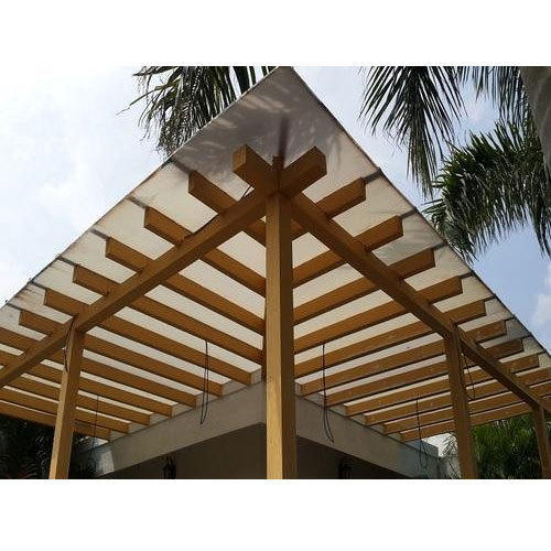 Glass Covered Pergola At Rs 350 Square Feet