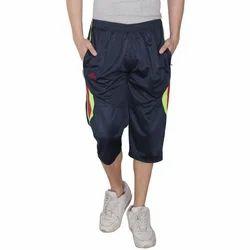 Plain Boys Sports Capri, Size: Medium