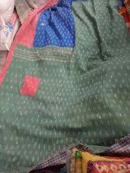 Patched Vintage Kantha Quilt