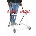 Albio CP Walker Rollator with Front Wheels Folding Height Adjustable