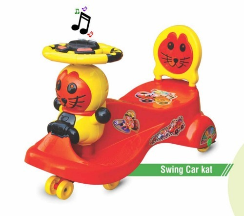 Plastic Swing Car Cat, For Personal