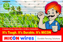 Micon Barbed Wire: 100