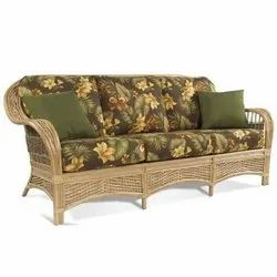 IRA Cane Wicker 3 Seater Rattan Sofa Set