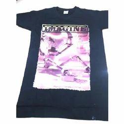 Black Printed T Shirts