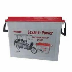 Electric Rickshaw Battery