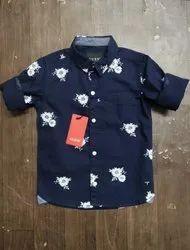 1year To 6yrs Regular Wear Boys Shirt, Size: 24.0