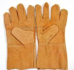 Brown Welding Leather Gloves