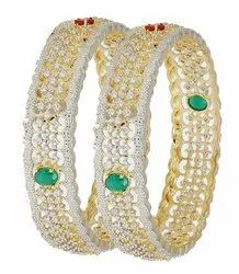 Wedding Necklace VST 2.4 2.6 2.8 Inch American Diamond Bangles