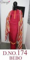 Classy Casual Wear Salwar Suit Bebo 174