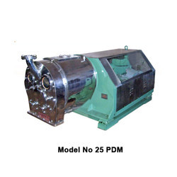 25 PDM - Double Stage Pusher Centrifuge Machines