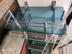 Rectangular Glass Stand
