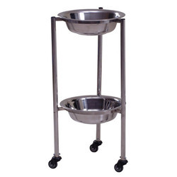 Two Tier Bowl Stand Trolley